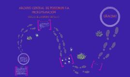 ARCHIVO CENTRAL Y  MICROFILMACIÓN