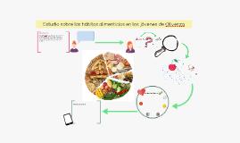 Estudio sobre los hábitos alimenticios en los jóvenes de Oli