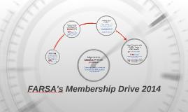 FARSA's membership drive 2014