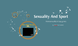 Sexuality And Sport