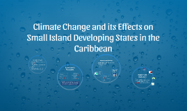 Climate Change and its Effects on Small Island Developing St