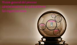 Visión general del proceso administrativo y su aplicación en