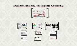 Conciencia  Aprendizaje en participativo detector de ruido