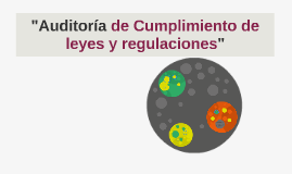 "Copy of ""Auditoria de Cumplimiento de leyes y regulaciones"""
