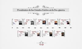 Presidentes de los Estados Unidos en la Pos-guerra