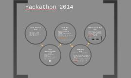 Hackathon Game Plan
