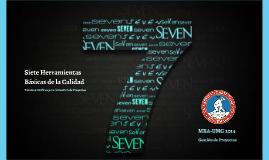 Las 7 Herramientas básicas de la Calidad