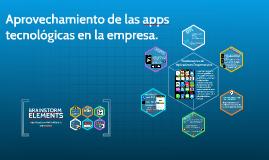 Aprovechamiento de las apps en la manofactura. Un marco para