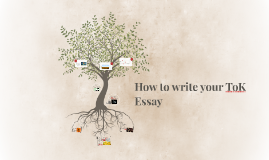 How to write your ToK Essay