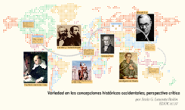 Variedad en las concepciones históricas occidentales