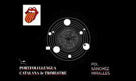 PORTFOLI LLENGUA CATALANA 3r TRIMESTRE