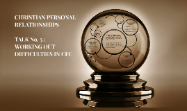 Copy of CHRISTIAN PERSONAL RELATIONSHIPS