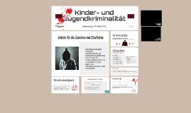 Kinder- und Jugendkriminalität