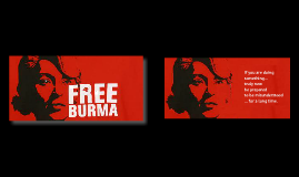 Copy of Free Burma, drink Gin in England, watch sitcoms - and create some common ground.