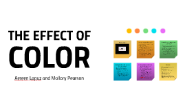 THE EFFECT OF