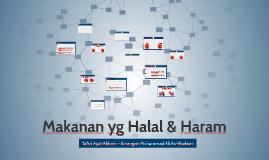 Makanan yg Halal & Haram