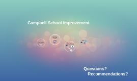 Campbell School Improvement