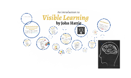 Copy of A Primer to Visible Learning by John Hattie