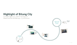 Copy of Highlight of Bitung City