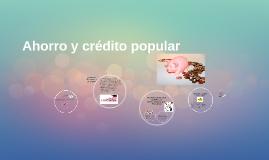 Ahorro y crédito popular