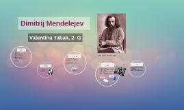 Dimitrij Mendelejev
