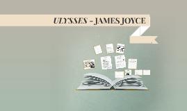 Copy of ULYSSES - JAMES JOYCE