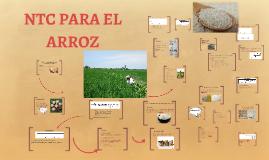 NTC PARA EL ARROZ