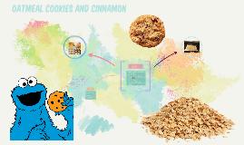 Oatmeal cookies and cinnamon