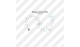 Kappa Delta Beta