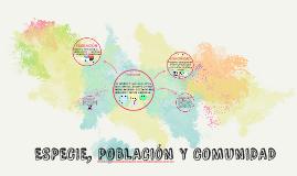 Copy of ESPECIE, POBLACIóN Y COMUNIDAD