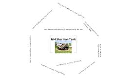 M-4 Sherman Tank