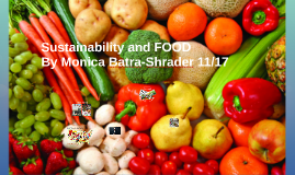 Sustainability and FOOD