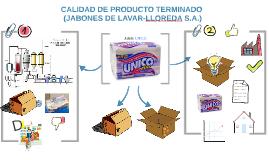 CALIDAD DE PRODUCTO TERMINADO (JABONES DE LAVAR-LLOREDA S.A.