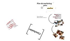 Plan de marketing para Bibliochair