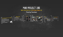 MAD PROJECT 2015