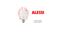 Alessi Light Design Project