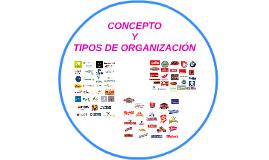 CONCEPTO Y TIPOS DE ORGANIZACIÓN