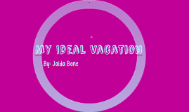 Ideal Vacation