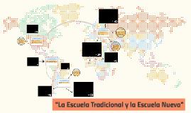 Copy of La Escuela Tradicional y la Escuela Nueva