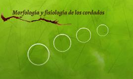 Morfología y fisiología de los cordados