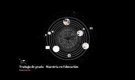 Trabajo de grado - Maestría en Educación