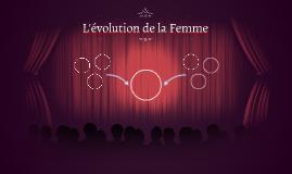 L'évolution de la Femme