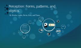 Chapter 4: Forms, patterns (psychology)