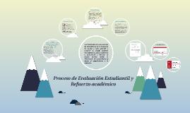 Proceso de Evaluación Estudiantil y Refuerzo académico