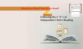 3 Fs of reading 17-18