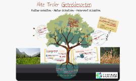 Alte Tiroler Getreidesorten