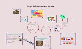 Projet de Littérature et Société