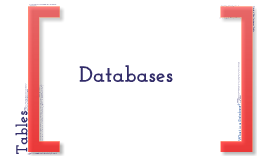 Unit 2 Databases
