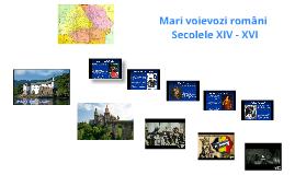 Mari voievozi români
