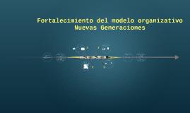 Fortalecimiento del modelo organizativo